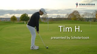 Tim H  presented by Scholarbook