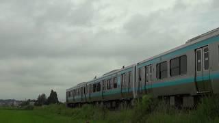 JR釜石線、E130系 ラグビー釜石 1号  2019 07 27