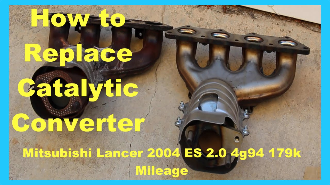 medium resolution of mitsubishi lancer fix catalytic converter replacement p0421 smog engine diagram 2002 mitsubishi mirage smog system clogged engine