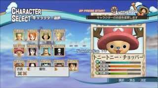 ONE PIECE: Pirate Warriors 海賊無双 Complete Costumes + Characters Special Attacks Showcase