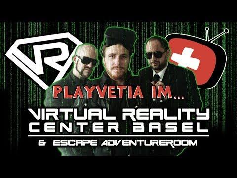 Knut0r, Eidi und Vega im VR Center Basel