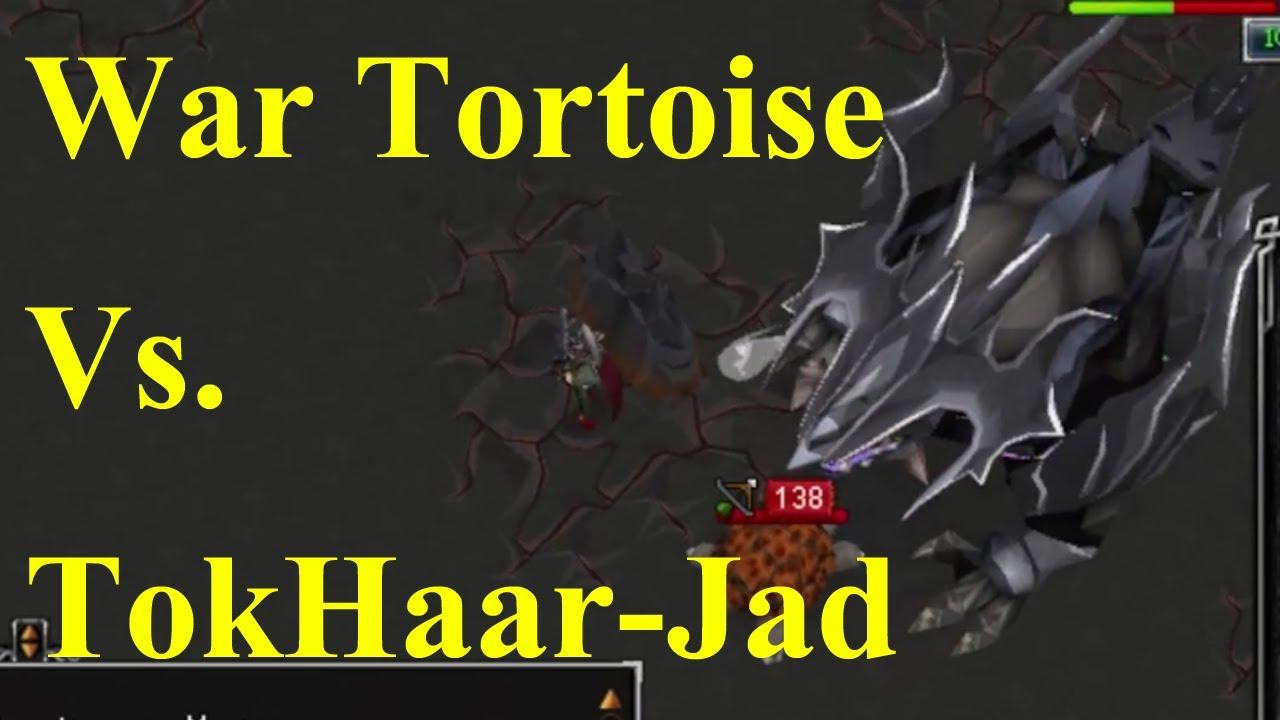 War Tortoise Vs Tokhaar Jad Fight Kiln Runescape Youtube