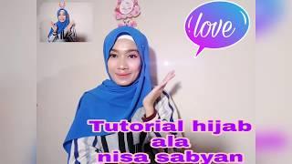 TUTORIAL HIJAB ALA NISA SABYAN #2style
