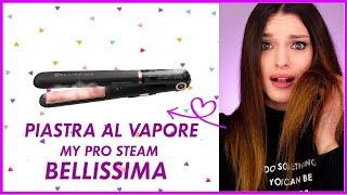 CAPELLI CRESPI? ECCO LA SOLUZIONE! My Pro Steam Bellissima | Test & Tell