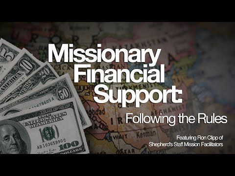 Webinar   Missionary Financial Support Following the Rules