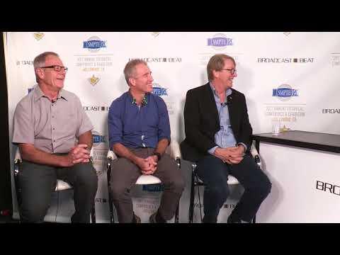 Howard Lukk, Alan Lambshead and Bruce Devlin of SMPTE #SMPTE2017 @smpteconnect