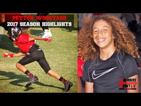 2017 Football Highlights - Peyton Woodyard