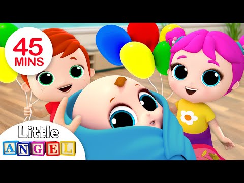 Baby is Here! Welcome Home, Baby Brother | Nursery Rhymes by Little Angel