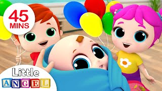 Download Baby is Here! Welcome Home, Baby Brother | Nursery Rhymes by Little Angel Mp3 and Videos