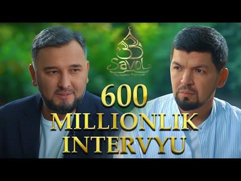 Sardor Rahimxon - 600 Millionlik Intervyu. Oilaviy, Hamma Ko'rishi Kerak