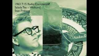 Old Radio Commercial Stan Freberg Salada Tea