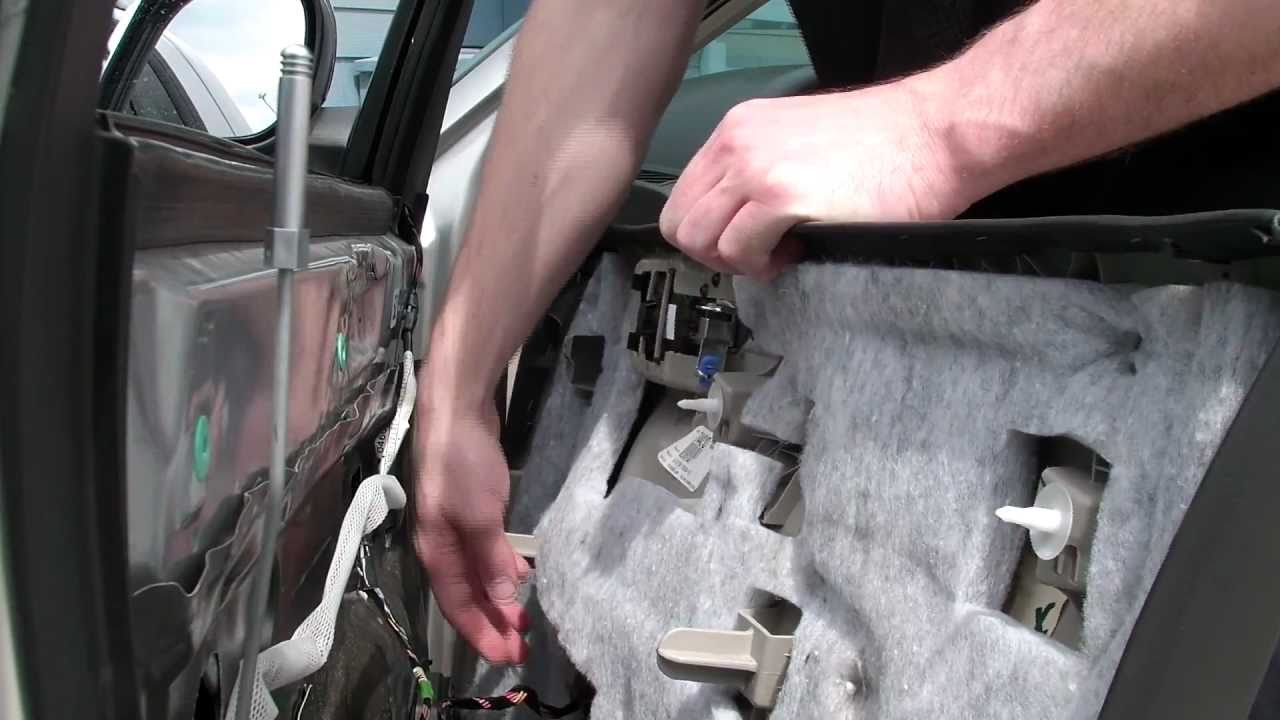 chrysler 300 door panel removal [ 1280 x 720 Pixel ]