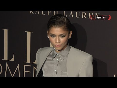 Zendaya arrives at ELLE's 26th Annual Women In Hollywood Awards