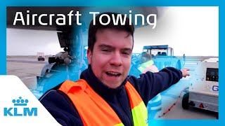 KLM Intern On A Mission - Aircraft Towing