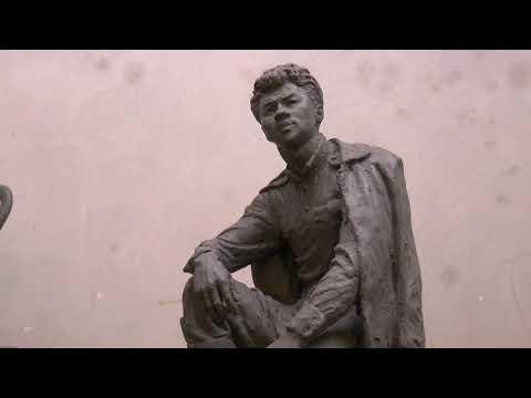 ObjectivTv: Видатні харків'яни: у саду Шевченка завершили встановлення семи контактних скульптур