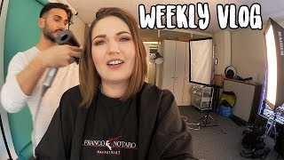 NYX PHOTOSHOOT & HOSTING A BUSINESS FORUM | Weekly Vlog