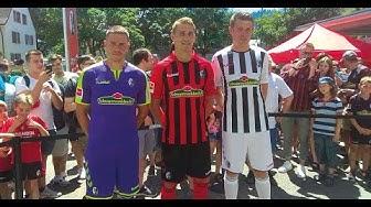 Trikotvorstellung SC Freiburg 2019 / 2020