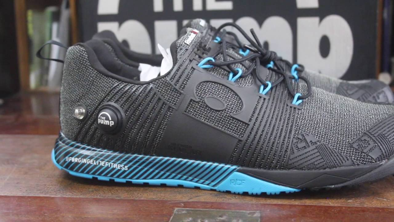 fefa0eeacb6e REEBOK Crossfit Nano Pump Fusion shoe unboxing - YouTube