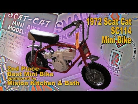 Clymer Manuals Scat Cat Model SC114 Vintage Mini Bike Scooter Motorcycle Video