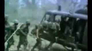 Vietnam War Footage - CCR Graveyard Train