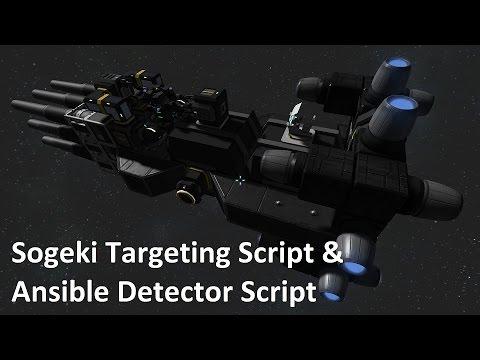 Space Engineers - Ansible Detector Script