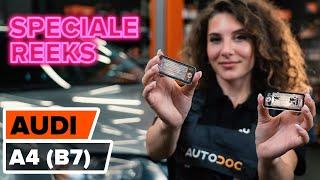 Onderhoud Audi A4 B8 - instructievideo