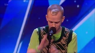 Robert White: Comedian ROASTS The Judges!   Britain's Got Talent 2018