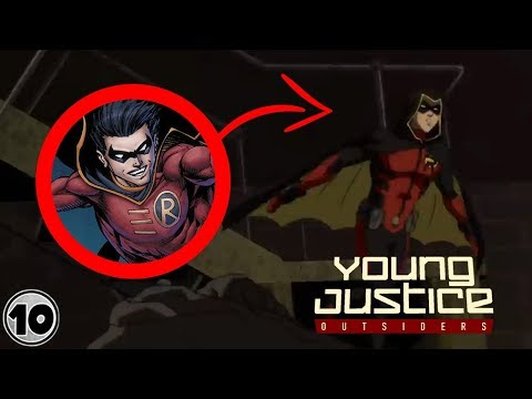 Easter Eggs You Missed In Young Justice: Outsiders Trailer