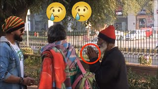 Giving money to homeless people ( Social experiment)