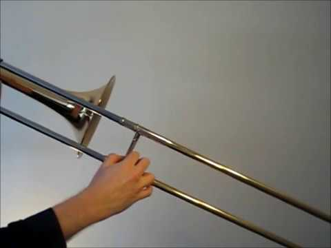 Learn to play Bb major scale on trombone