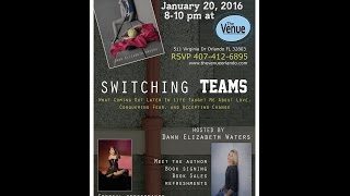Switching Teams Book Launch Promo