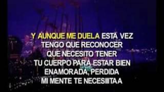 karaoke alejandra guzman - llama porfavor