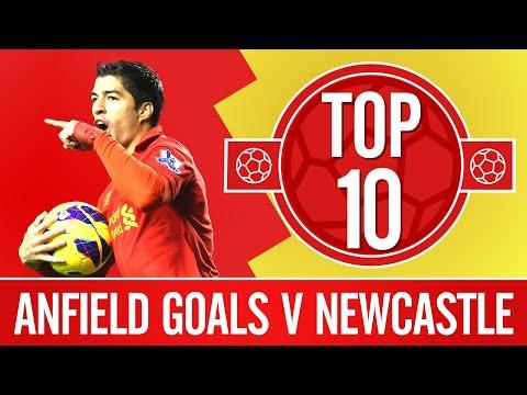 10 Besar: Gol Anfield melawan Newcastle Utd |  Suarez, Stevie & buku teks Xabi Alonso