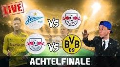 EUROPA LEAGUE LIVE - FC SALZBURG vs BORUSSIA DORTMUND | Achtelfinale