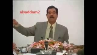 اخركلمة لصدام حسين عام 2002 قال ملك السعودية وشيخ الكويت عملاء اسرائيل