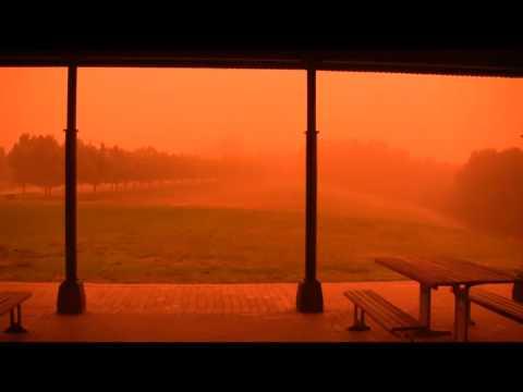 Dust Storm in Sydney, September 23, 2009