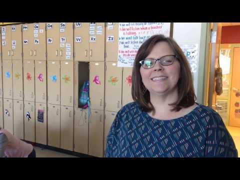 Angie Thompson, intervention specialist at Kae Avenue Elementary School