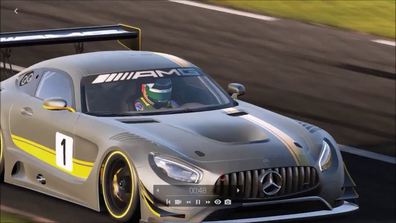project cars mercedes benz amg gt3 24 hours of le mans 1 lap youtube. Black Bedroom Furniture Sets. Home Design Ideas