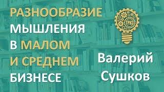 6. Разнообразие мышления в малом и среднем бизнесе. Мастер ТРИЗ Валерий Сушков