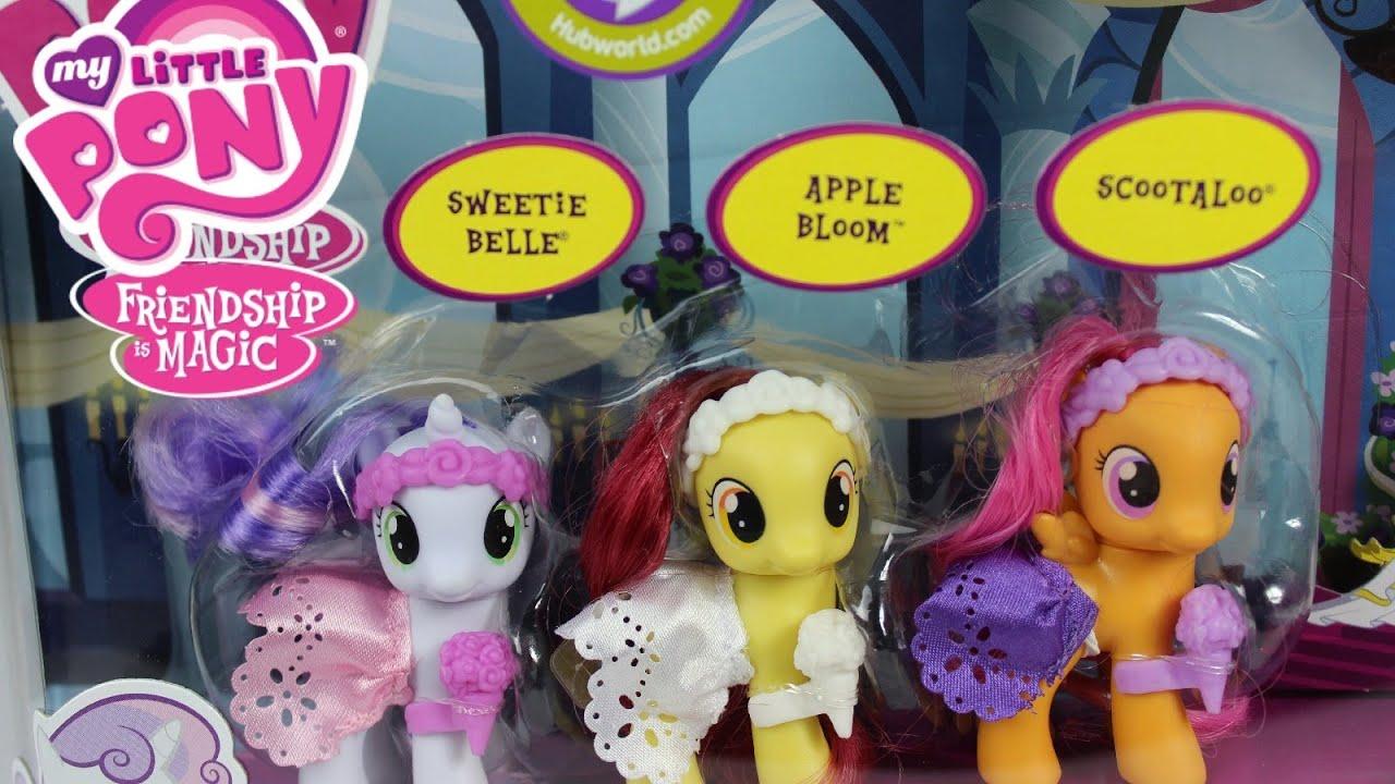 My Little Pony Wedding Flower Fillies MLP Wedding Set-MLP ...