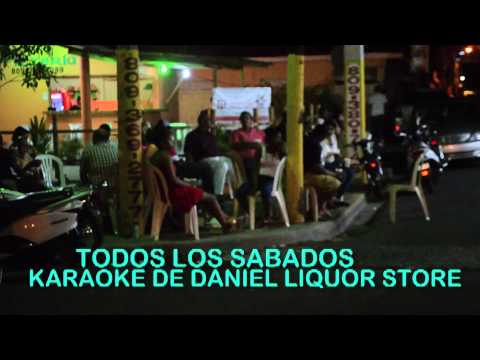 ESTO PASO EN LOS KARAOKE DE DANIEL LIQUOR STORE BY CRISTIAN VIDEO HD