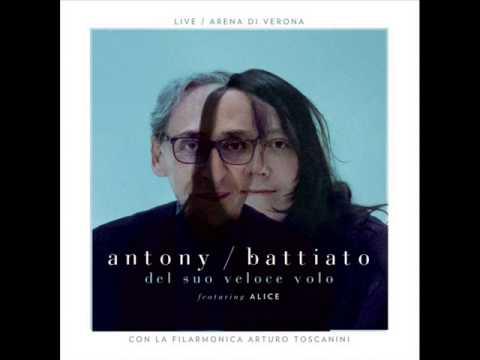 13 - la cura - Franco Battiato & Antony Hegarty - Del suo veloce volo (2013)