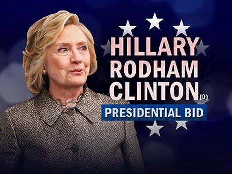 hillary clinton announces 2016 white house bid youtube