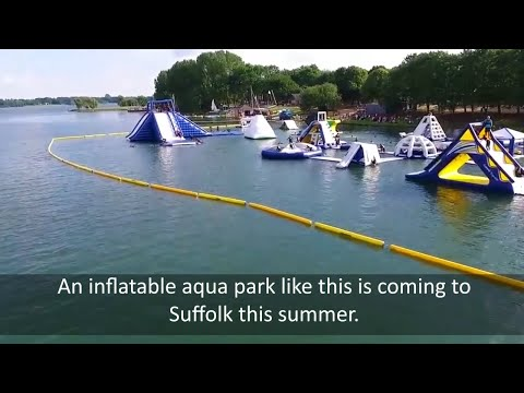 Aqua Park is coming to Alton Water Suffolk this summer