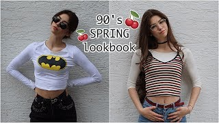 Spring Lookbook // 90's vibes ♡ vittoria.miles