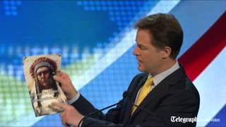 Nigel Farage v Nick Clegg: EU debate highlights