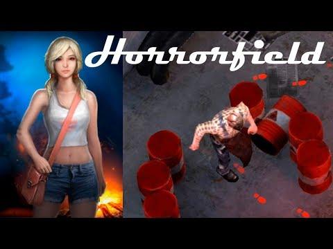 Horrorfield 0.27 (Unreleased) Сбежать от маньяка! Пятница на телефоне! хоррор как ласт дей!