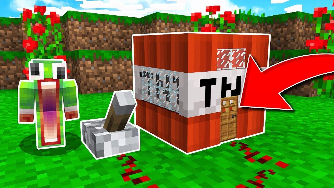 Never Live Inside A Minecraft Tnt Block