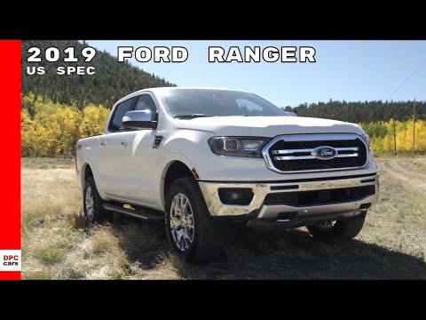 2019 Ford Ranger XLT STX & Lariat Truck