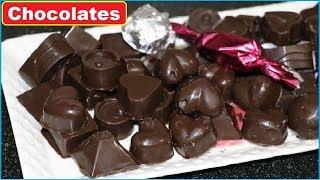 केवल 100 Rs में बनायें  50  से ज्यादा  चॉकलेट घर पर   | Homemade Chocolates | How to make chocolates